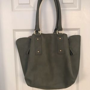 Xhilaration Grey Shoulder Bag